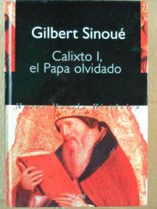 """Gilbert Sinoué – Calixto I, el Papa olvidado<span class=""""rating-result after_title mr-filter rating-result-978"""" ><span class=""""no-rating-results-text"""">No hay votaciones todavía.</span></span>"""