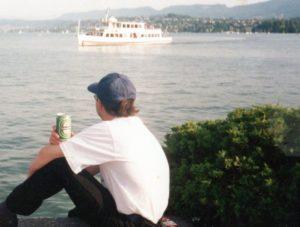 Zurich y una cerveza