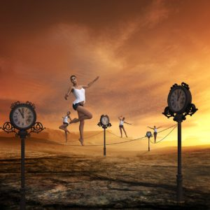 El principio del tiempo como territorio