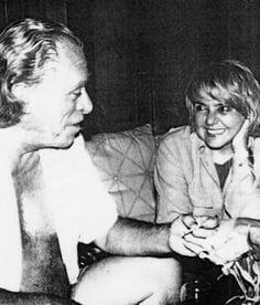 Fernanda Pivano y Charles Bukowski